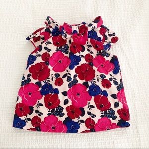 [Janie and Jack] Floral Blouse